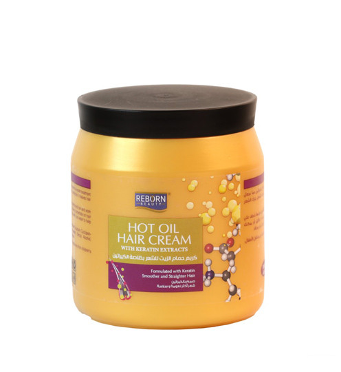New Hot Oil Cream with Keratin Extracts-1000ml