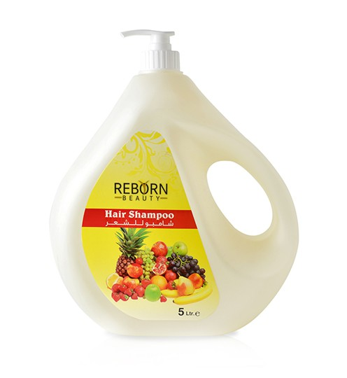 Hair Shampoo with Mix Fruits Extracts 5ltr
